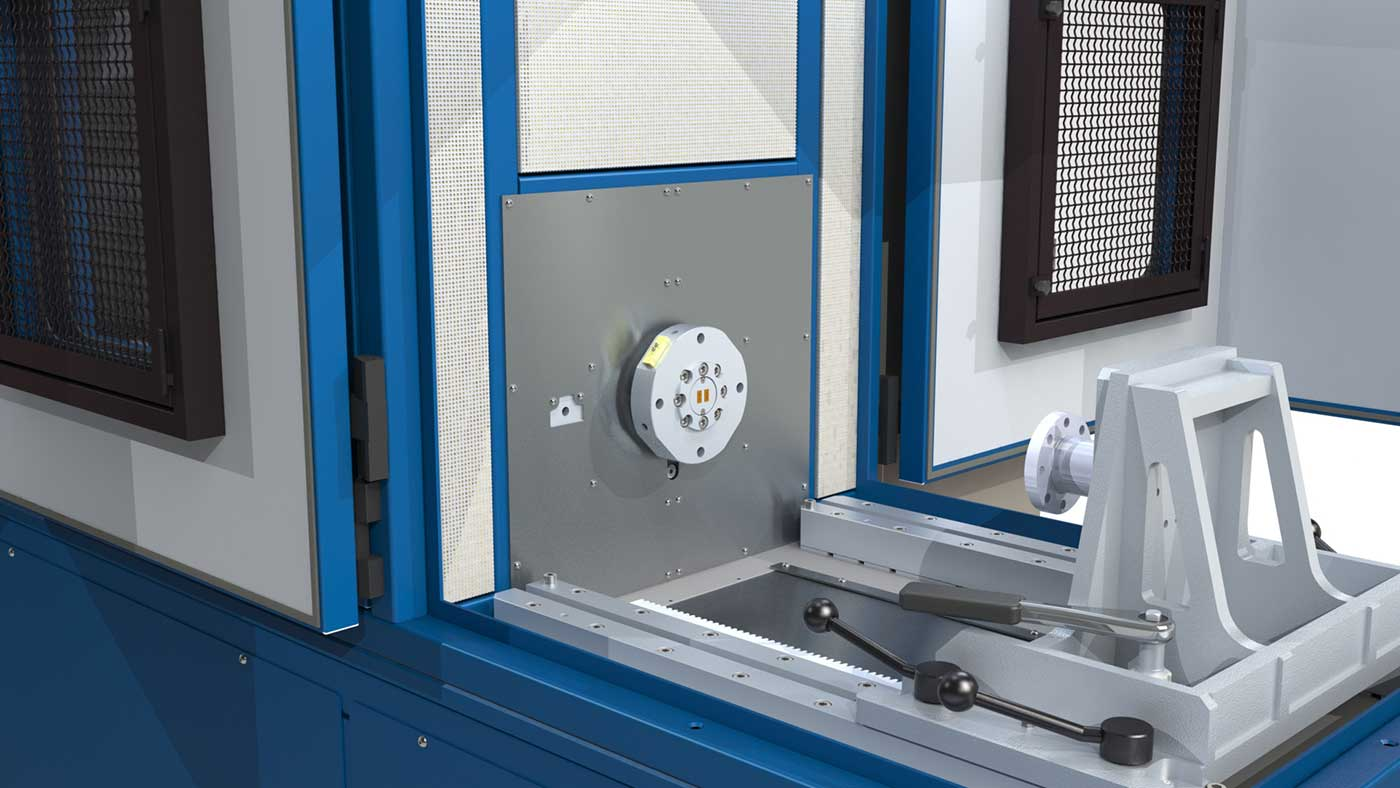 Development of friction materials: Friction Quality Test machine