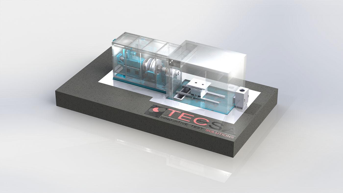 TecSA TC 225 三飞轮测功机