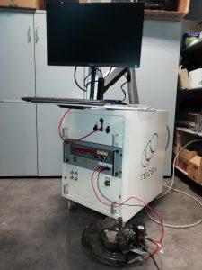 Sistema EPB freno a mano elettrico