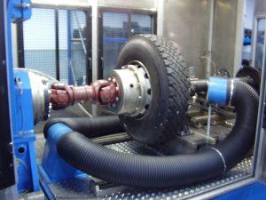 Brake mounting with Axle - TecSA
