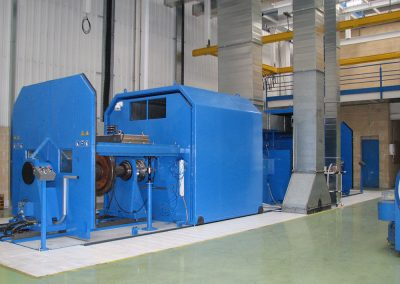 Revamping: dynamometer benches and brake testing machineries