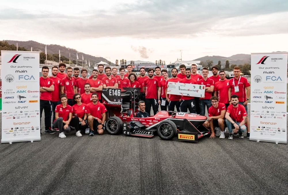 TecSA is Silver Sponsor of the racing team of the Polytechnic University of Turin