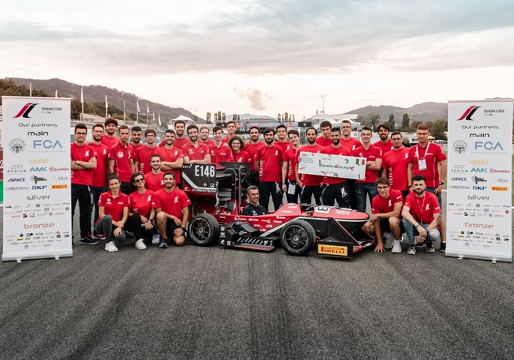 Racing team of the Polytechnic University of Turin - TecSA Silver Sponsor