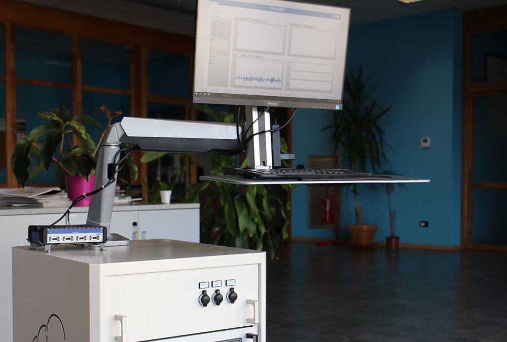 Carrello EPB: sistema di controllo per testare il freno a mano elettrico
