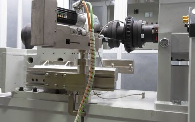 Fatigue tests on parking brakes: Tecsa's machine AT 7000