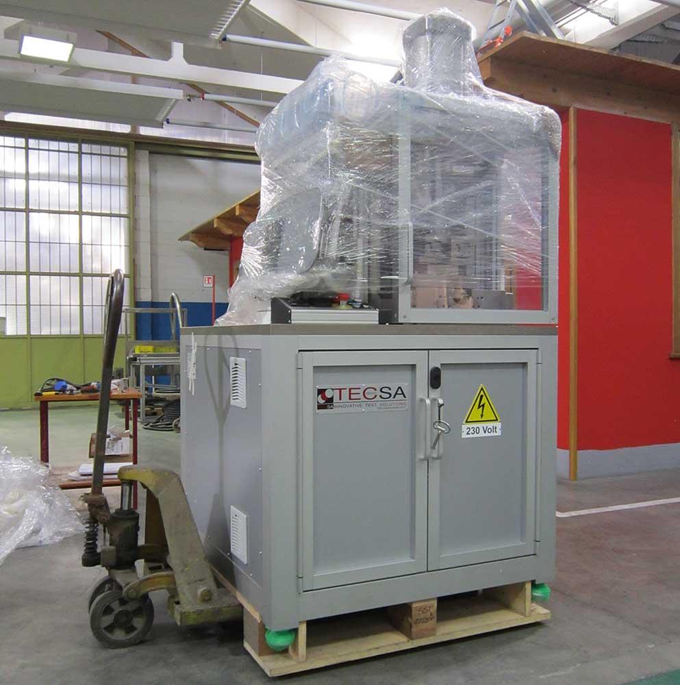 New Shear Strength Test Machine - TecSA