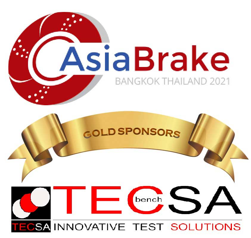 """TecSA as a Gold Sponsor in the """"AsiaBrake 2021"""" Digital Conference"""
