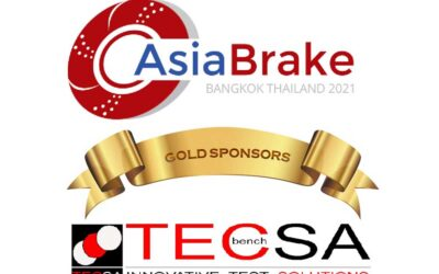 "TecSA as a Gold Sponsor in the ""AsiaBrake 2021 Digital Conference"""