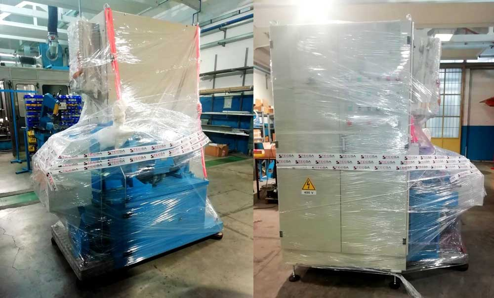 一位拥有旧Krauss机器的西班牙客户主动联系了TecSA,目的是想翻新机器,使其再次满足当前的市场需求。